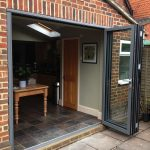 Bi-folds black mouse