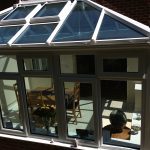 PVCu conservatory top view