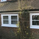 Picture of a Heritage Flush Sash PVCu window