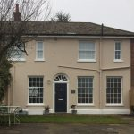 Picture of sliding sash windows